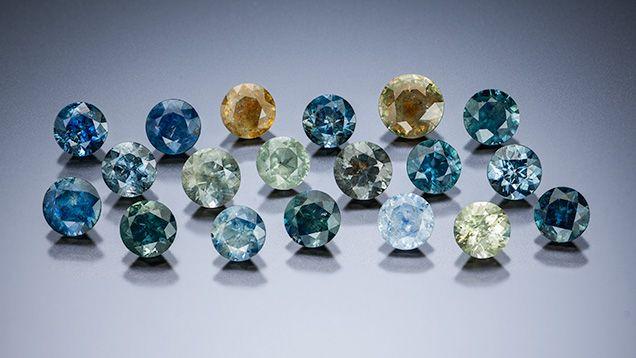 Alluvial Montana Sapphire Samples Minerals Gemstones