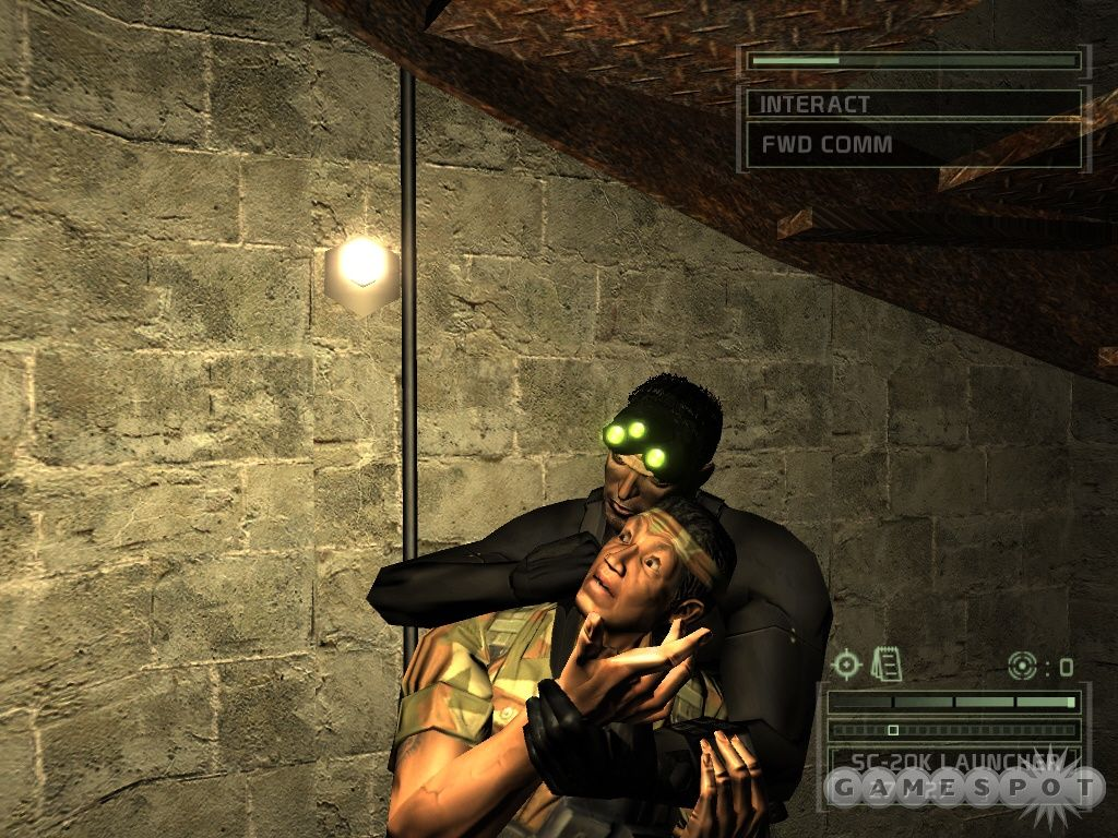 Игра tom clancy's splinter cell: chaos theory (splinter cell.