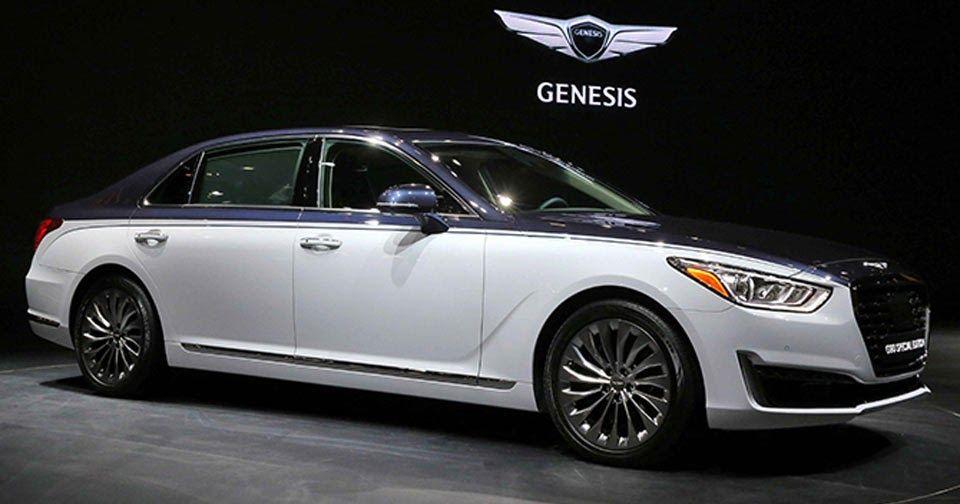 Genesis G90 Special Edition Looking More Like A Bentley Carscoops Hyundai Genesis Bentley Hyundai