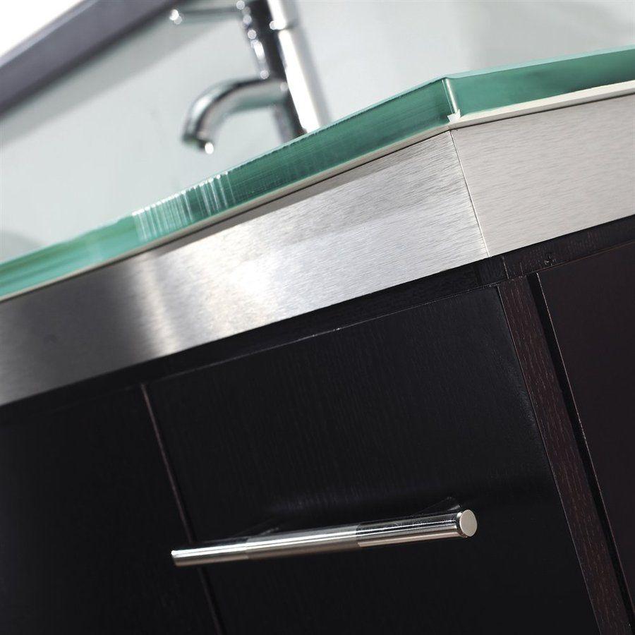 Shop Spa Bathe Delucia Chai Integral Double Sink Bathroom Vany