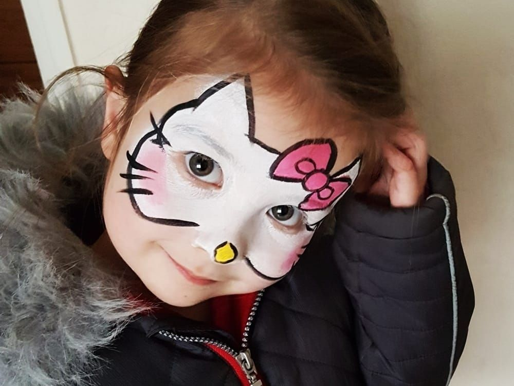 Hello Kitty Katzengesicht Schminken Katzengesicht Schminken