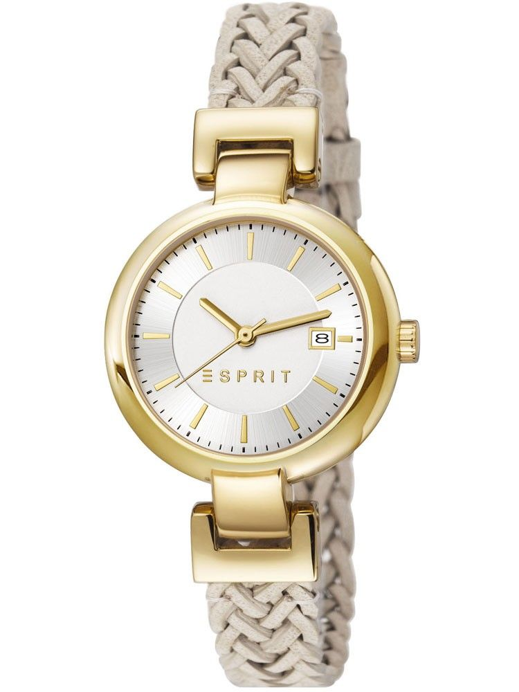 5b7d5815 ESPRIT LADIES ES-ZOE WOVEN IVORY WATCH #luxury #apparel #iwatchstores.com