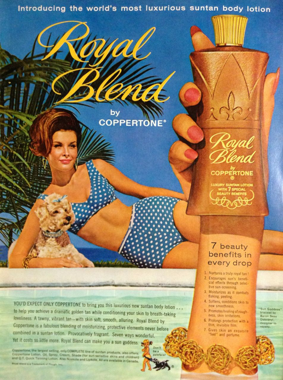 Collectibles Publicite 1968 Revlon Cosmétiques Moon Drops Catalogues Will Be Sent Upon Request Breweriana, Beer