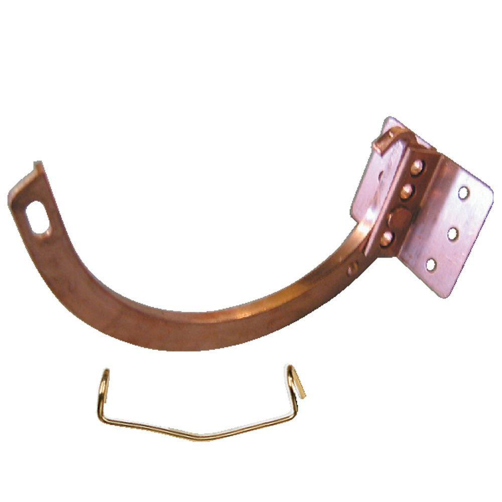 Amerimax Home Products 5 In Copper 10 Combination Circle And Shank With Spring Clip Metal Roof Copper Roll Forming