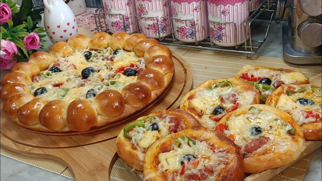 بيتزا سبيسيال بالعجينة الذهبية الساحرة الي منستغناش عليها في جميع المعجنات سلطانة ااحلويات Youtube Food Breakfast Desserts