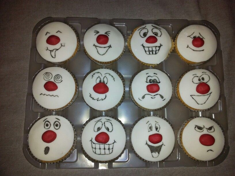 My comic relief cakes :-)