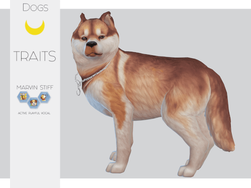Marvin Stiff Husky Dog Pet For The Sims 4 Sims Pets Sims 4 Pets Sims 4