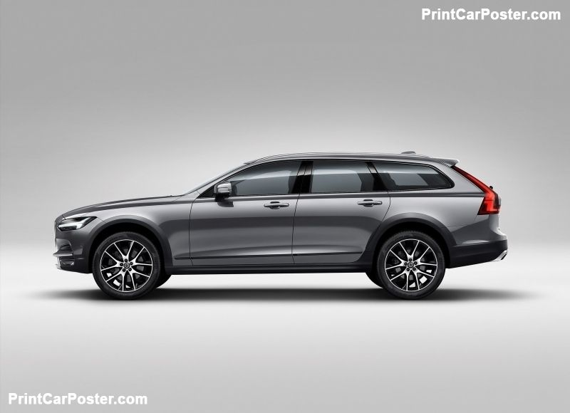 Volvo V90 Cross Country 2017 Poster Voiture Mode