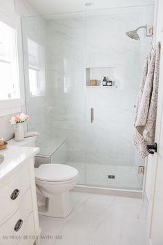 Kleine Badezimmerrenovierung und 13 Tipps zum Wohlfühlen | So viel besser mit dem Alter