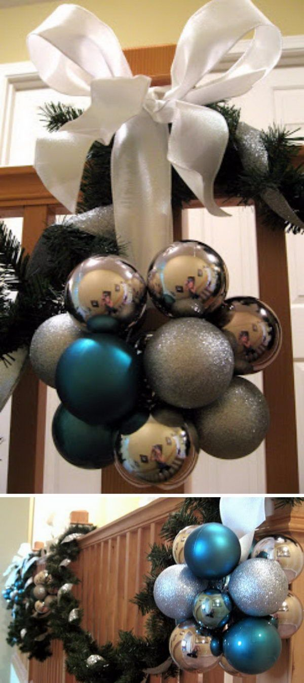 great ways to decorate your home with christmas ornaments