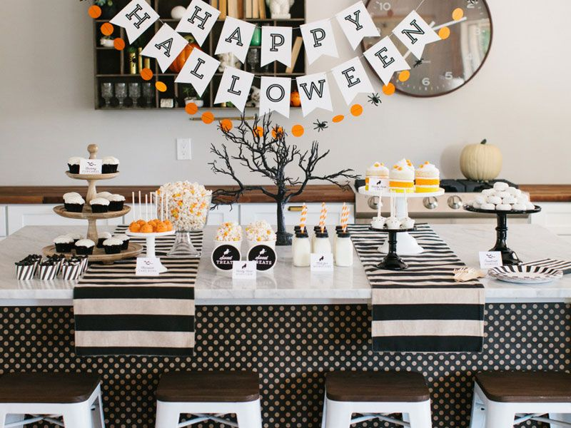 The Best Halloween Decorating Ideas for Your Modern Home -   - simple halloween decorations to make