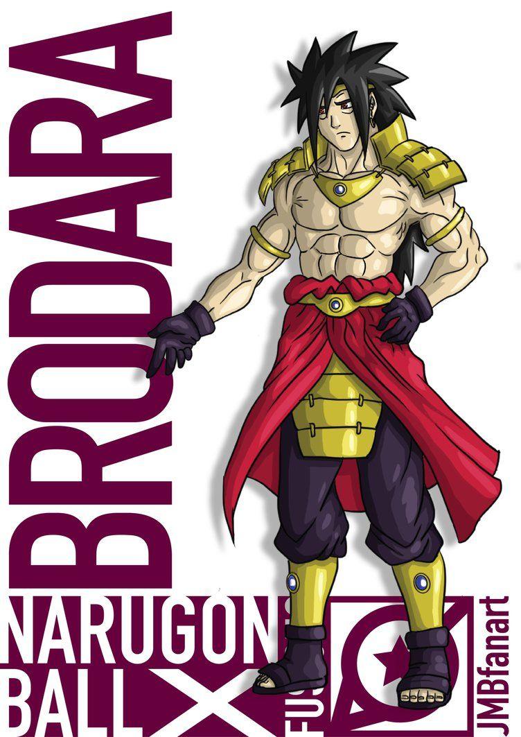 Brodara (Broly and Madara fusion) by JMBfanart on DeviantArt