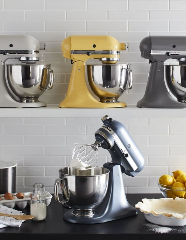 Must Have Kitchen Appliances Guide Crate And Barrel Kitchenaid Artisan Kitchen Aid Mixer