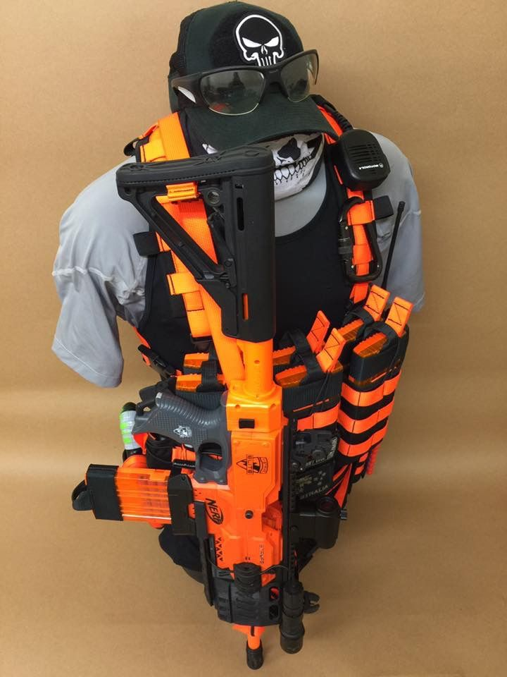 Nerf Party, Nerf Gun Attachments, Lantern, Nerf Mod, Van, Style, Plate  Carrier, Pickles, Armour