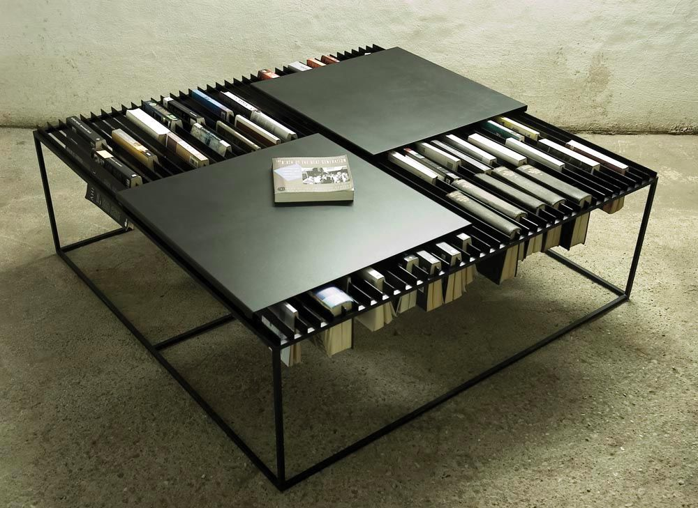 Table Coffee Design Livre Rangement BibliothèqueSalon BWCQoedxr