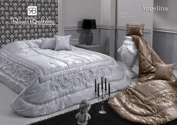 Trapunta piumone angelina letto matrimoniale invernale renato balestra grigio calde notti - Piumone letto matrimoniale ...