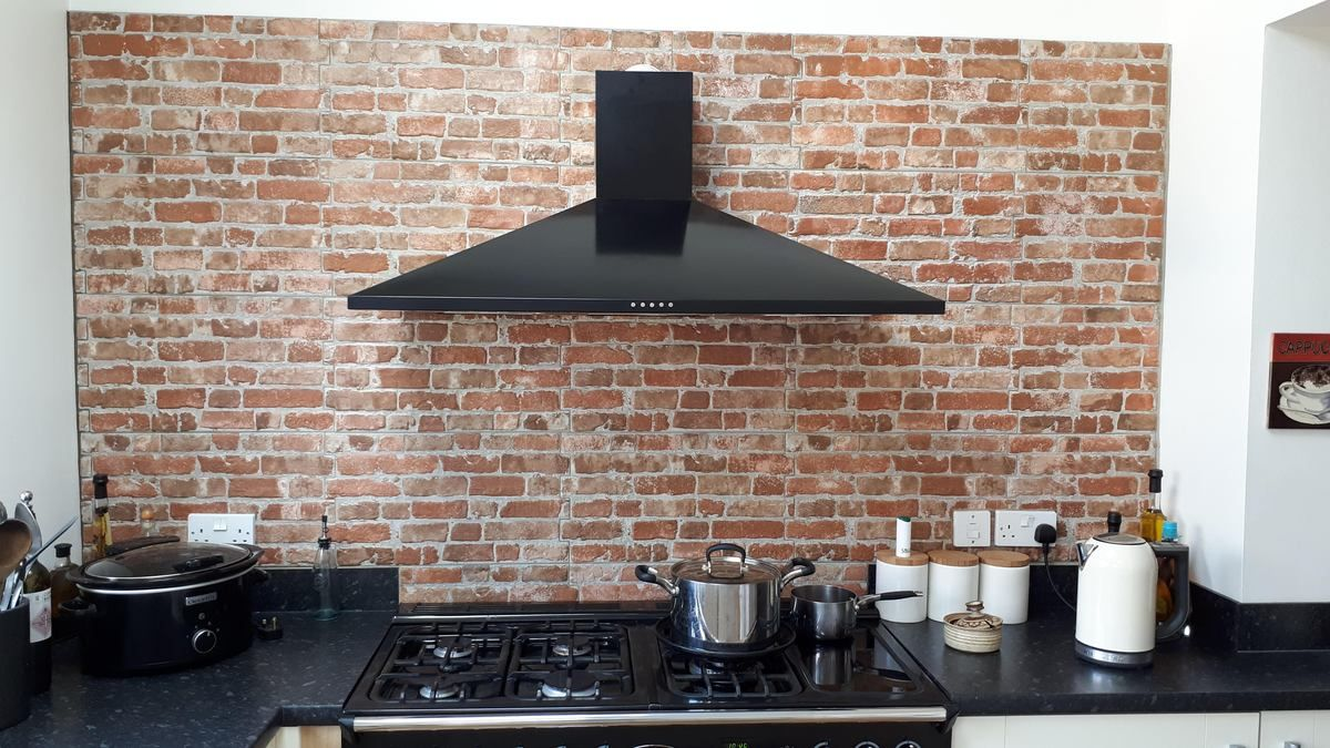 New York Rustic Brick Red Effect Wall Tile Brick Feature Wall Brick Effect Tiles Brick Interior Wall