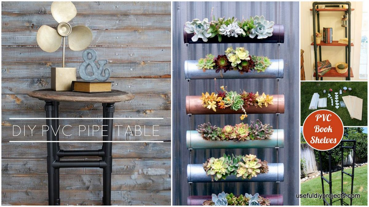 Create These Wonderful And Easy 16 DIY PVC Projects  Useful DIY Projects