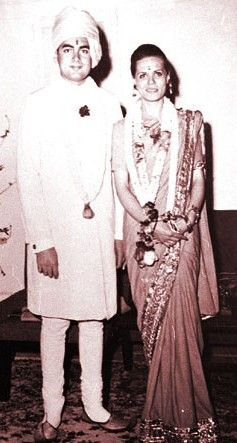Rajiv Gandhi And Sonia Wedding Photos