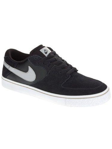 Nike Men's Paul Rodriguez 7 VR Black/Matte Silver/White Skate Shoe 9.5 Men