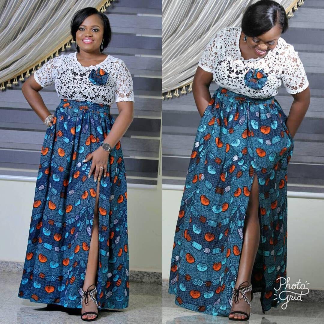 maxi  dresses  ankara  styles  2419fe1a2