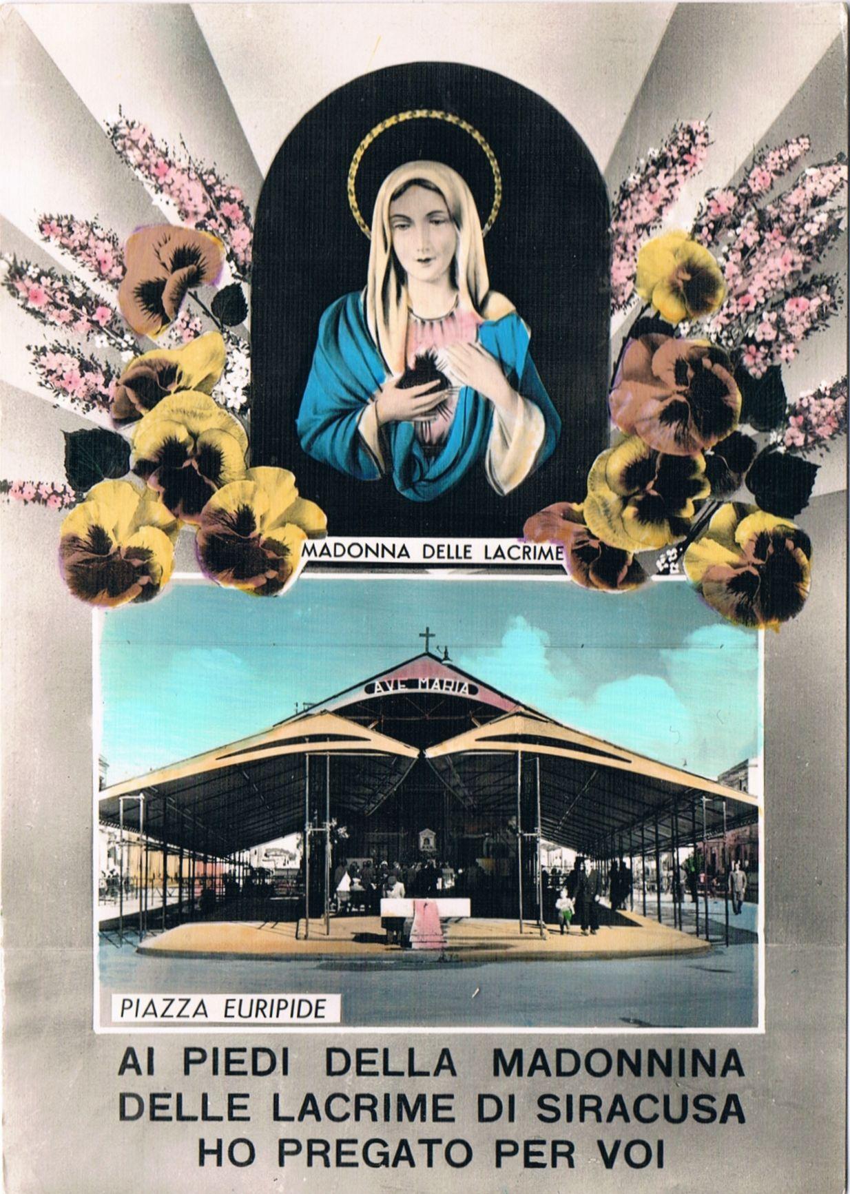 SIRACUSA - Madonnina delle lacrime - 1958