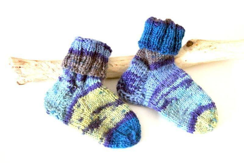 ♥ Babysöckchen ♥ von PAMYLOTTA design auf DaWanda.com