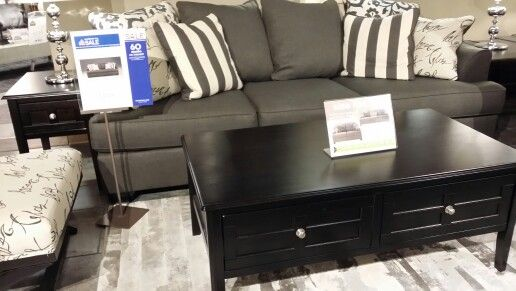 Ashley Furniture Levon Charcoal Set=$1870 Accent Chair=$500