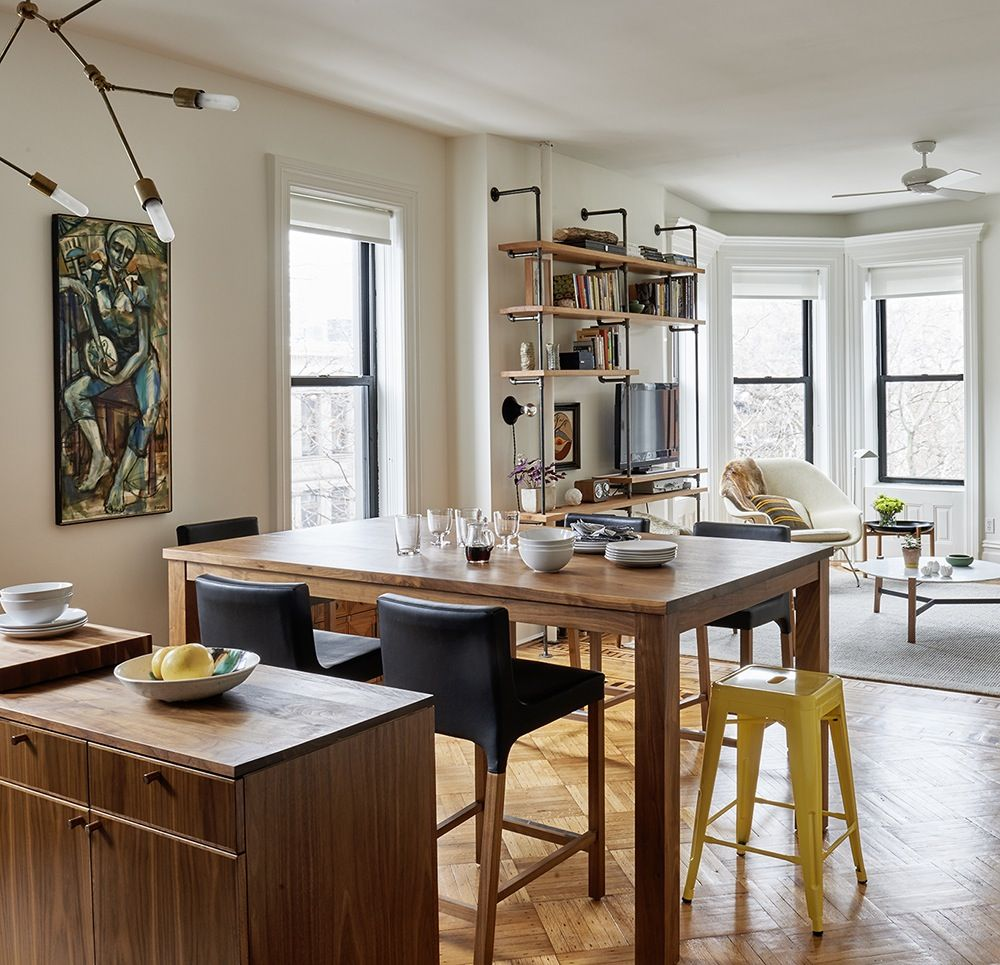 Design Brooklyn: An Open Plan Kitchen Wows In A Vintage Park Slope Apartment Great Ideas