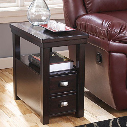 narrow chairside table with drawers splendid contemporary narrow nightstand wooden espresso wenge chair side end table with 2storage drawer includes modhaus living pen