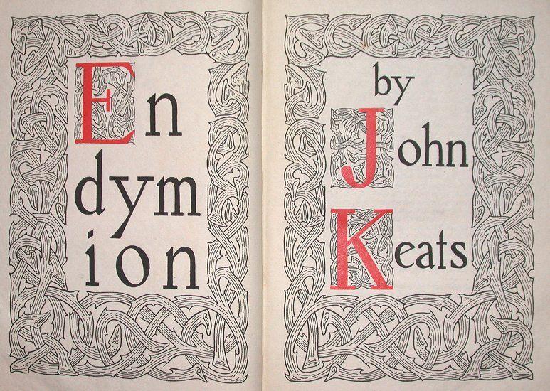 endymion keats