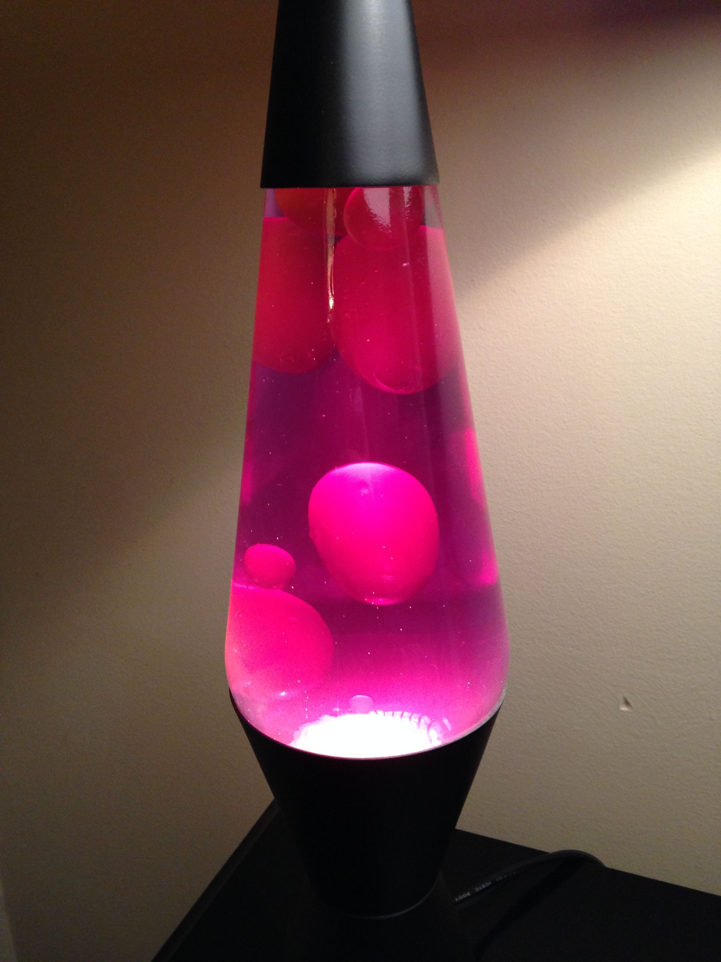 "Spencers Lava Lamp One Classic 14"" Lava Lampred Liquid And White Wax#lavalamp"