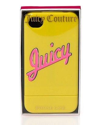 Juicy Couture Neons iPhone 4G Cover