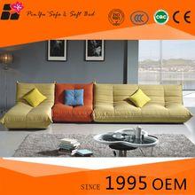Amarillo sección barato moderno sofás sofá venta con funda lavable