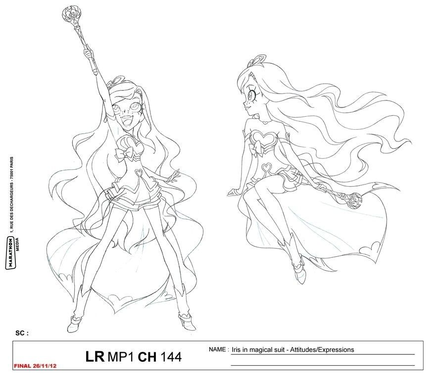 Coloriage Lolirock Transformation Princess Coloring Pages Cool Drawings Muse Art