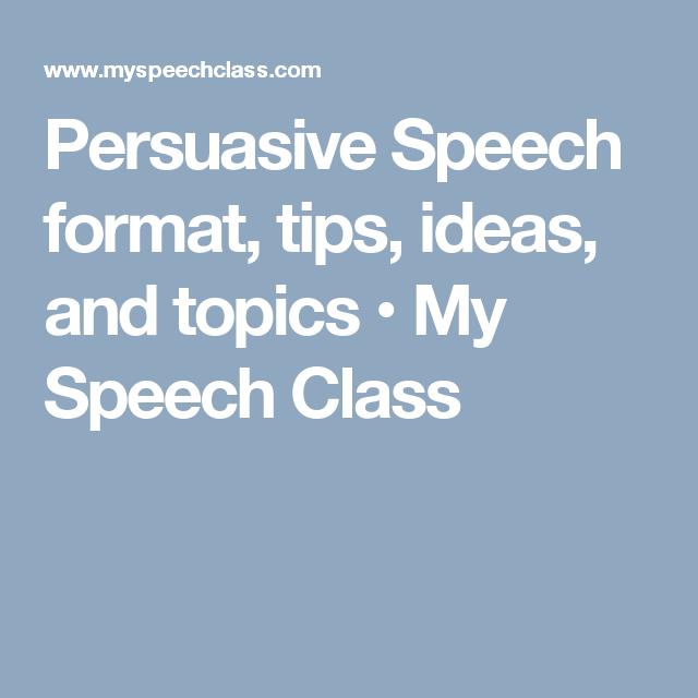 english public speaking topics