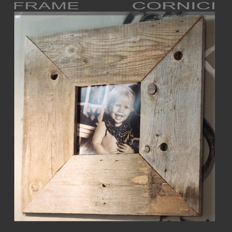 Cornici Frame Wood home decor, Wood frame, Wooden photo