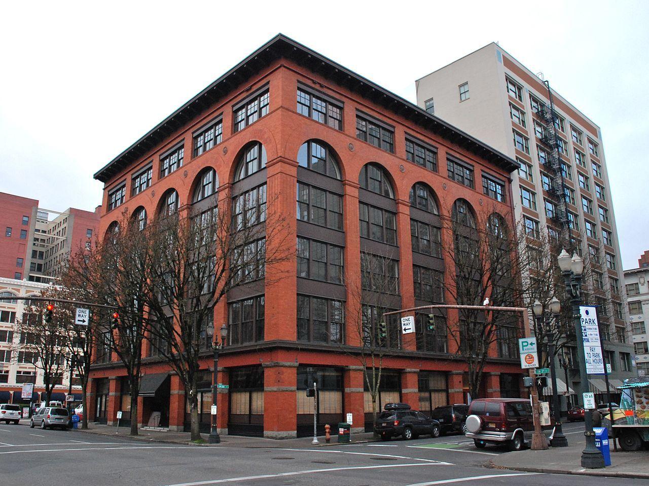 Sherlock Building In Southwest Portland Oregon Southwest
