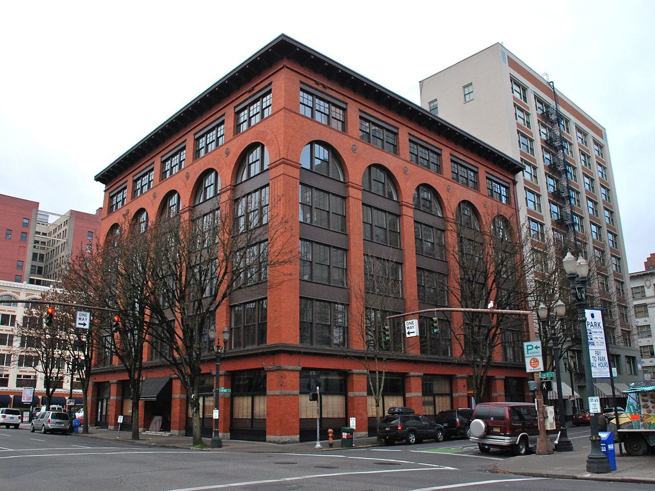 Sherlock Building In Southwest Portland Oregon Southwest Portland National Register Of Historic Places Building