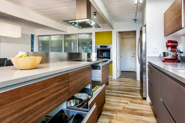 Eichler Kitchen - Bay Area Eichler Renovation | kitchen & dining ...
