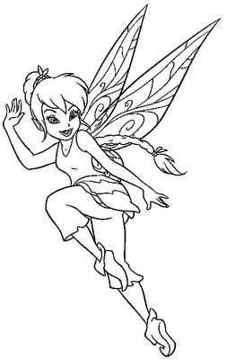 FAIRY COLORING PAGES Printable Pinterest Coloriage