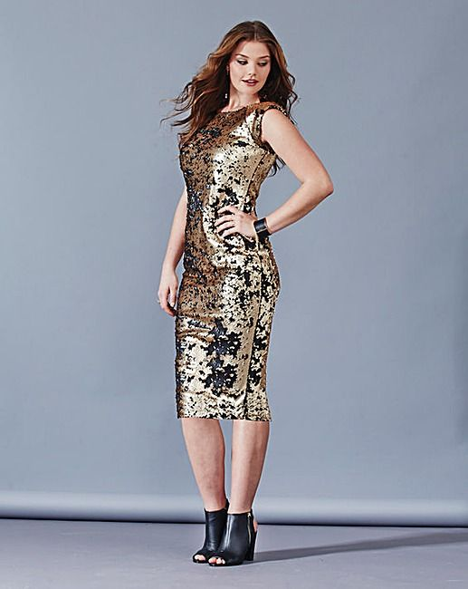 Gotta Have It Ax Paris Plus Size Sequins Bodycon Dress And More