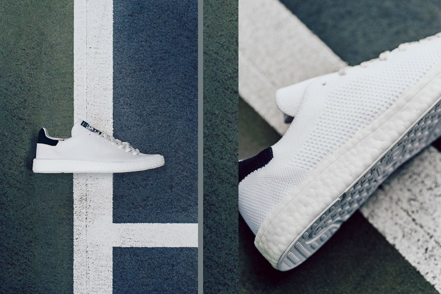 dcf9f401a20 adidas has dropped off a revamped take on the iconic Stan Smith with the Stan  Smith Primeknit Boost.