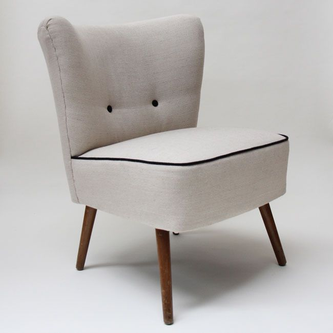 1950's Cocktail Chair (white)