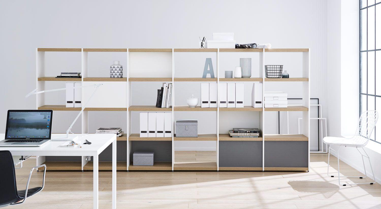 Büroregal Aktenregal Und Ordnerregal Kaufen Regalraum Regalsystem Büroaufbewahrung Regal