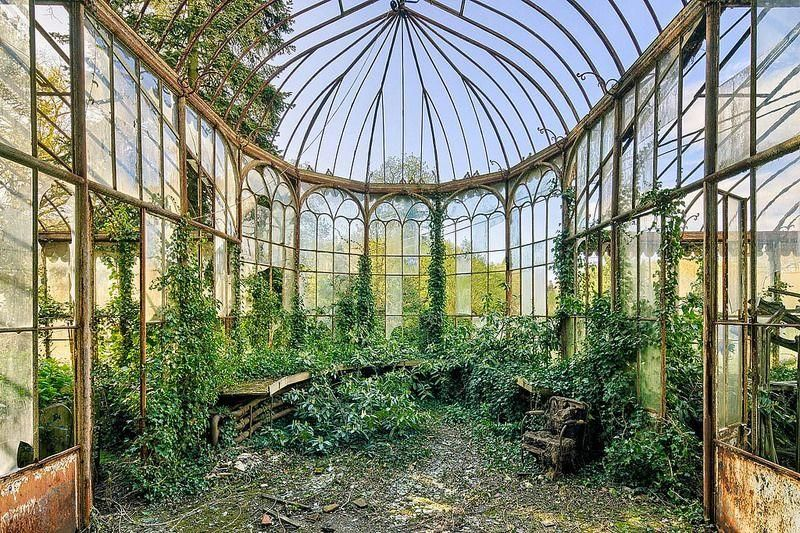 Image result for abandoned victorian greenhouse | Victorian ...