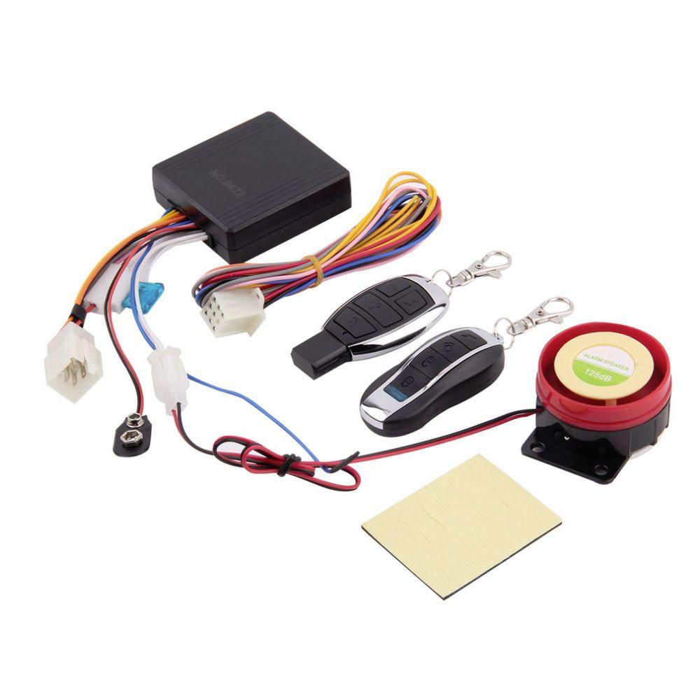 NewFree 1Set Scooter Alarm System Motor Lock Safety 2
