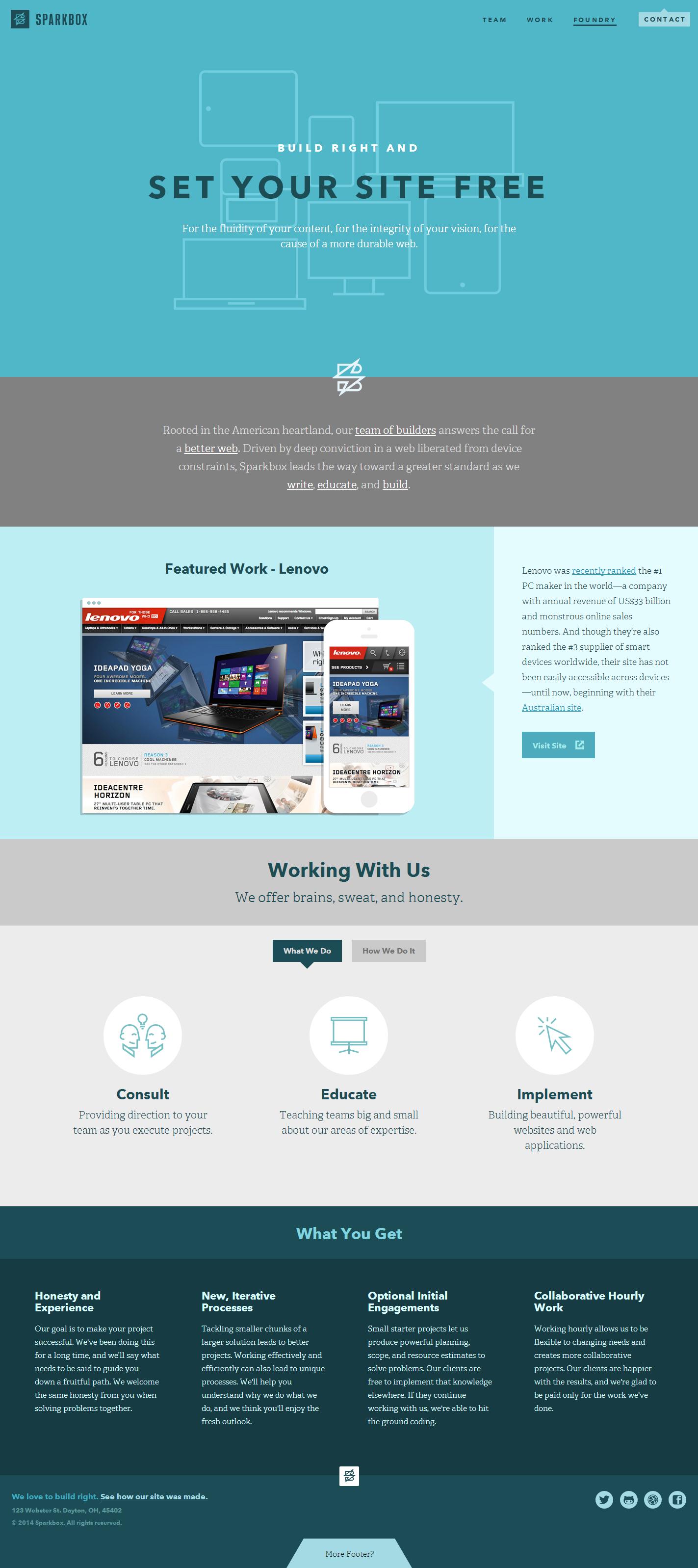 Sparkbox Is A Design Shop Doing Responsive Sites Right Girisimcilik