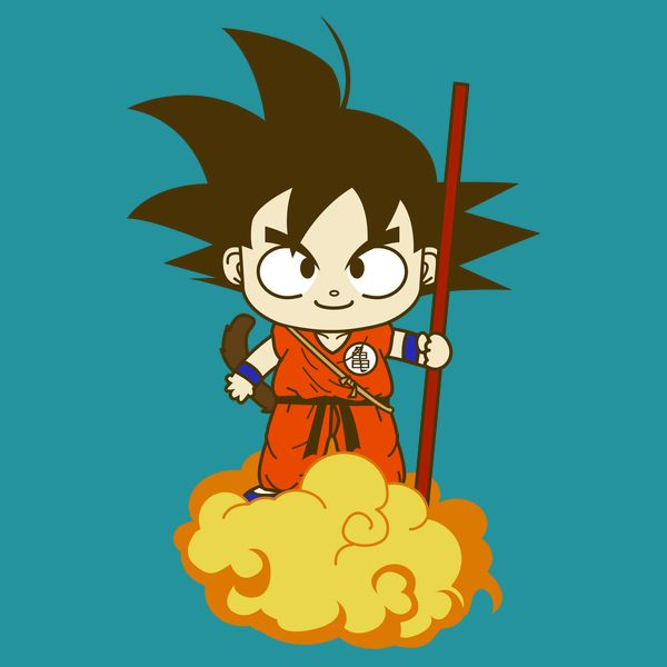 Son Goku On Kinton Cloud Goku Son Goku Clouds