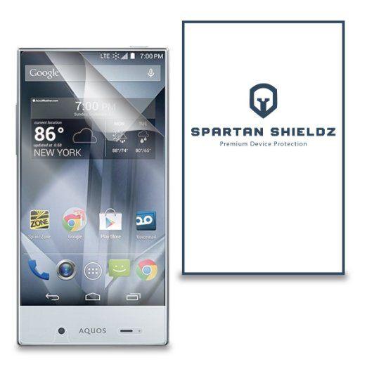 6x Spartan Shields Premium Hd Screen Protector Cover For Sharp Aquos Crystal 6x Spartan Shield Screen Protector Screen Protector Iphone